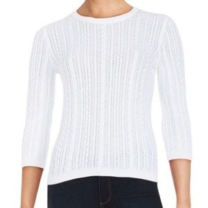 Lord & Taylor 3/4 Sleeve sweater size L